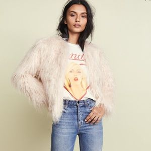 MCGUIRE Play Boy Fur Coat